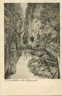 Mittenwald - Leutaschklamm - Verlag Franz Josef Huber München Gel. 1923 - Mittenwald