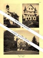 Photographien / Ansichten , 1937 , Berg , Tübach , Gais , Prospekt , Fotos , Architektur !!! - SG St. Gallen