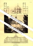 Photographien / Ansichten , 1937 , Berg , Schloss Pfauenmoos , Prospekt , Fotos , Architektur !!! - SG St. Gallen