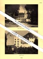 Photographien / Ansichten , 1937 , Staad / Thal SG , Risegg , Wartensee , Wartegg , Prospekt , Fotos , Architektur !!! - SG St. Gallen