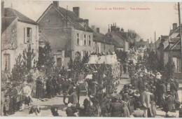 CPA 10 TRAINEL Jour De Fête Cavalcade Rue Char Animation 1908 - France
