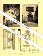 Photographien / Ansichten , 1937 , Staad / Thal SG , Risegg , Greifenstein , Prospekt , Fotos , Architektur !!! - SG St. Gallen