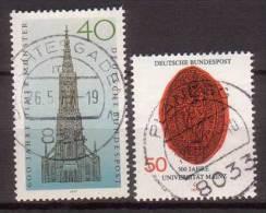 BRD , 1977 , Mi.Nr. 937 / 938 O - Oblitérés