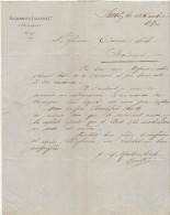 LAC Kaltenbach Engler & Cie Singapour  25c Sage O. Cad Paris Pl. De La Bourse 1876 (2 Scans) - 1877-1920: Periodo Semi Moderno