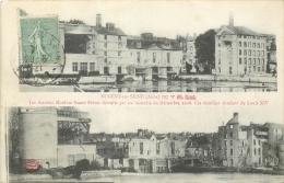 10° NOGENT-SUR-SEINE LES ANCIENS MOULINS SASSOT FRERES DETRUITS PAR UN INCENDIE EN 1908 - Nogent-sur-Seine