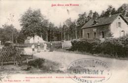 (1026)  CPA  Saint Die Maison Forestiere Col Du Haut Jacques  (bon Etat) - Saint Die