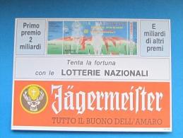 1991 CARTOLINA LOTTERIA MERANO - Biglietti Della Lotteria