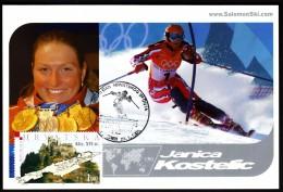 Croatia Zagreb 2003 Olympic Games Salt Lake City 2002 Great Day Of Croatian Sport Janica Kostelic Alpine Skiing - Winter 2002: Salt Lake City