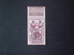 COTE DES SOMALIS 1942 TIMBRES DE 1915-25 FRANCE LIBRE MNG - Unused Stamps