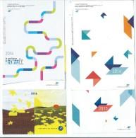 C 2 - 8 PETITS CALENDRIERS- THEME LA POSTE - Calendari