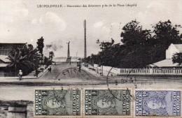 LEOPOLDVILLE : Monument Des Aviateurs Près De La Place Léopold - Très Bel Affranchissement (voir Scan) - Congo Belge - Autres