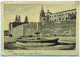 AMELIA (TERNI) - Mura Ciclopiche E Collegio Baccarini (Viaggiata 1953) - Terni