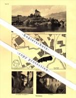 Photographien / Ansichten , 1937 , Werdenberg Und Azmoos , Prospekt , Fotos , Architektur !!! - SG St. Gallen