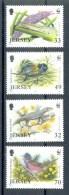 Ncw345s WWF VOGELS REPTIEL INSECTEN MIER BIRDS INSECTS ANT LION FIELD CRICKET WARBLER WALL LIZARD JERSEY 2004 PF/MNH - W.W.F.