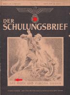 135, Der Schulungsbrief 1 Heft 1942 Folge 1, 2 Und 3 ! - Revues & Journaux