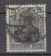 Deutsches Reich -  Mi. 104 (o) - Germania