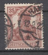 Deutsches Reich -  Mi. 103 (o) - Germania