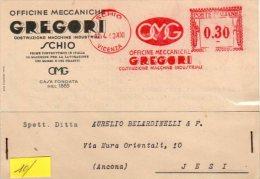 OFFICINE  MECCANICHE - GREGORI - SCHIO - - Vicenza