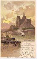 Paris - Souvenir De La Belle Jardinière - 2 Rue Du Pont Neuf - Abside De Notre-Dame - Paris (01)