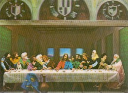 3D - Last Supper - Toppan - Postcards