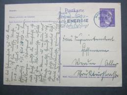 1942 ,  Hannover  ,  Klarer Maschinen Werbestempel Auf Beleg - Deutschland
