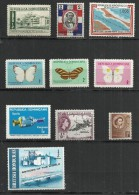 TEN AT A TIME - CENTRAL AMERICA - LOT OF 10 DIFFERENT - MH MINT HINGED - Vrac (max 999 Timbres)