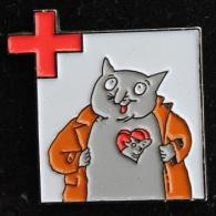 CROIX ROUGE - SAMARITAINS -  CHAT - CAT -  HEART - COEUR -   SCHWEIZ - SUISSE   -    (13) - Associations