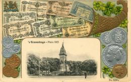 MONNAIE(GRAVEHAGE) CARTE GAUFREE - Monnaies (représentations)