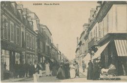 Cosne Rue De Paris Commerces La Samaritaine à Droite Quincaillerie Lampe - Commercio