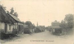 LA NEUVILLE DE BOSC - Rue Principale (carte Vendue En L'état) - Unclassified
