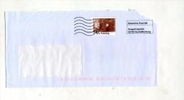 Enveloppe Entiere Aschaffenburg Illustré Einstein - Briefomslagen - Gebruikt