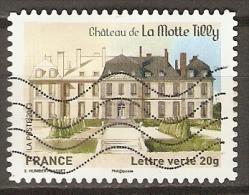 FRANCE    -    2013  .  Y&T N° 869 Oblitéré.    CHATEAU  De  LA MOTTE TILLY - Adhésifs (autocollants)
