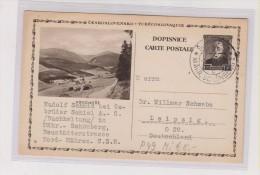 CZECHOSLOVAKIA ,postal Stationery KRKONOSE - Ganzsachen