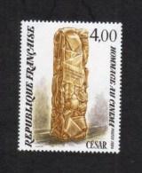 Variétés **NEUF** 2299 César, F De Forget Défectueux + Informations Variété - Varieties: 1980-89 Mint/hinged