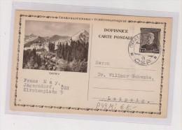 CZECHOSLOVAKIA ,postal Stationery TATRY - Ganzsachen