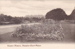 England London Hampton Court Palace Summer Flowers