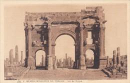 Algeria Timgad Ruines Romaines Arc de Trojan