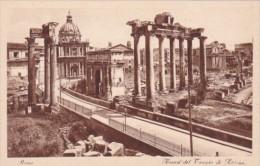 Italy Rome Roma Tempio di Saturno
