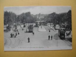 La Place Carnot Et Le Monument De La République. - Lyon