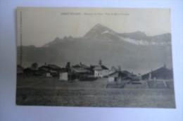 CPA 73 CREST VOLAND. Hameau Du Cret. Vue Du Mont Charvin. 1921. - Francia