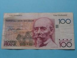100 Frank - Cent Francs ( For Grade, Please See Photo ) ! - [ 2] 1831-... : Belgian Kingdom