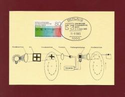 Berlin 1983 Mi.Nr. 702 , IFA Berlin - Maximum Karte - First Day 14.07.1983 - Weltausstellung