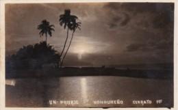 Honduras Cerrato Un Prisaje Beach Scene Real Photo