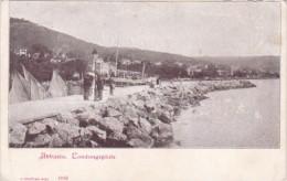Italy Abbazio Landungsplatz