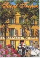 Saint Tropez - Gendarmerie - Citroên 2 CV Gendarmes Bonnes Soeurs Cornettes (illustrateurs Mega) - Saint-Tropez