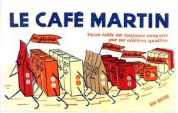 Buvard  Café Martin. - Café & Thé