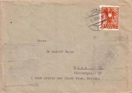 Brief  Bedarfspost Innerhalb Von Wien - Gelaufen 12.07.1945 - 1918-1945 1. Republik
