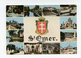 St Omer. Multivues Blason   Edit Cim N° C.31 - Saint Omer