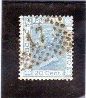 1867 Italia - Vittorio Emanuele II 20 C. - 1861-78 Vittorio Emanuele II