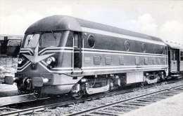 DIESELLOKOMOTIVE 1955 TYPE 201, Fotokarte - Eisenbahnen